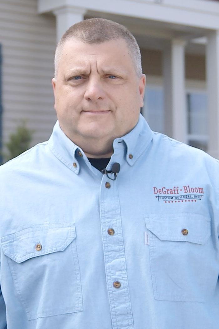 Headshot of Mark Johnson, First Vice-President