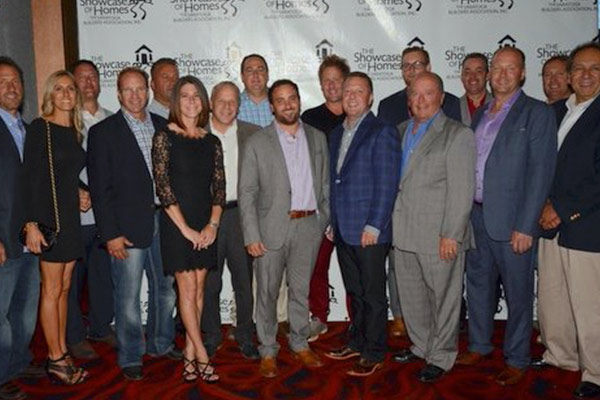 group photo of the saratoga builders association