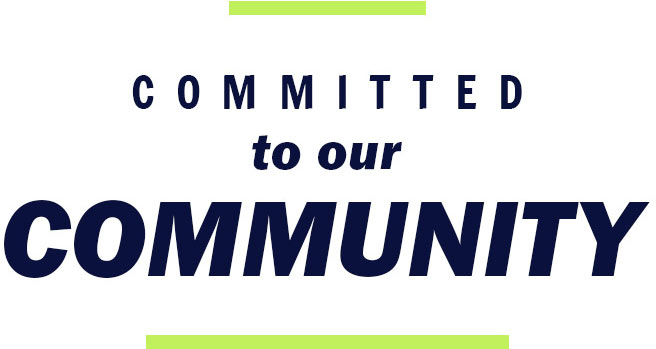 Committed to our cimmuity