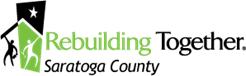 Rebuilding together Saratoga logo